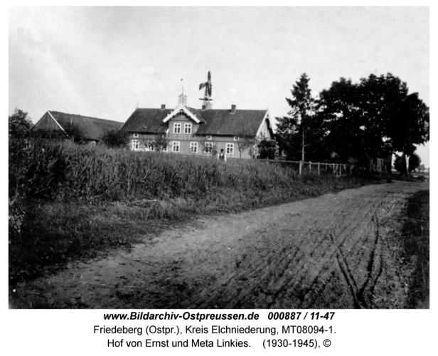 Friedeberg Ksp. Schakendorf, Hof von Ernst und Meta Linkies