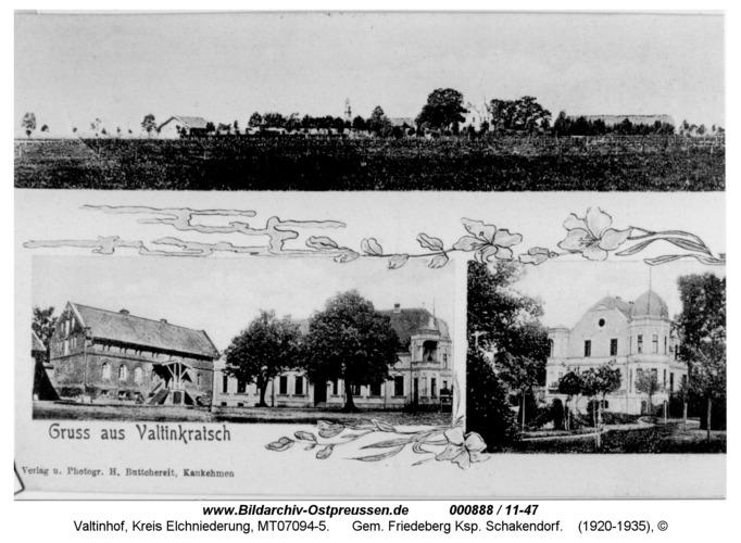 Valtinkratsch, Gem. Friedeberg Ksp. Schakendorf