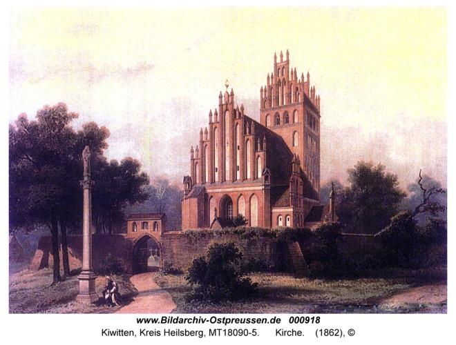Kiwitten, Kirche