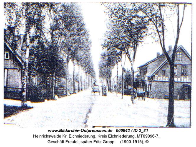 Heinrichswalde, Geschäft Freutel, später Fritz Gropp