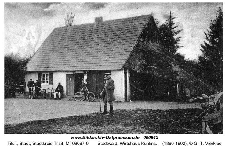 Tilsit, Stadtwald, Wirtshaus Kuhlins