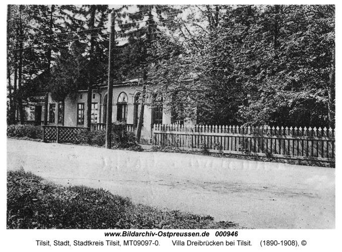 Tilsit, Villa Dreibrücken bei Tilsit