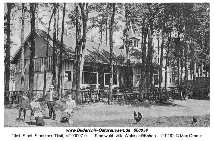 Tilsit, Stadtwald, Villa Waldschlößchen