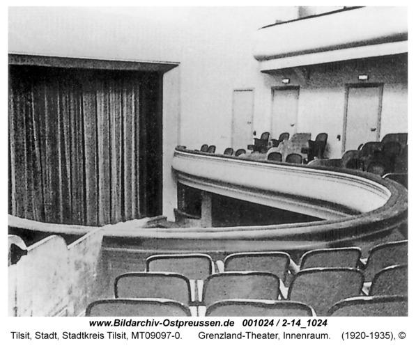 Tilsit, Grenzland-Theater, Innenraum