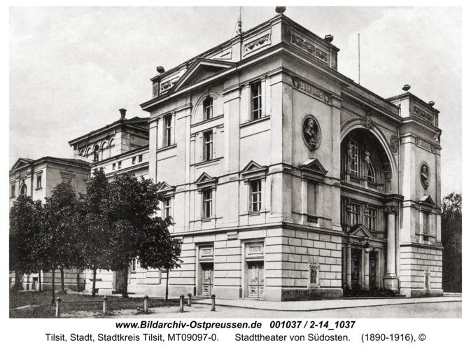 Tilsit, Stadttheater von Südosten