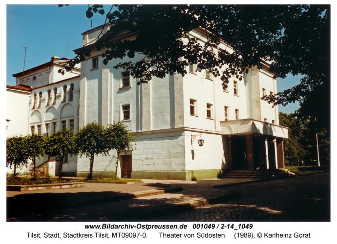 Tilsit, Theater von Südosten