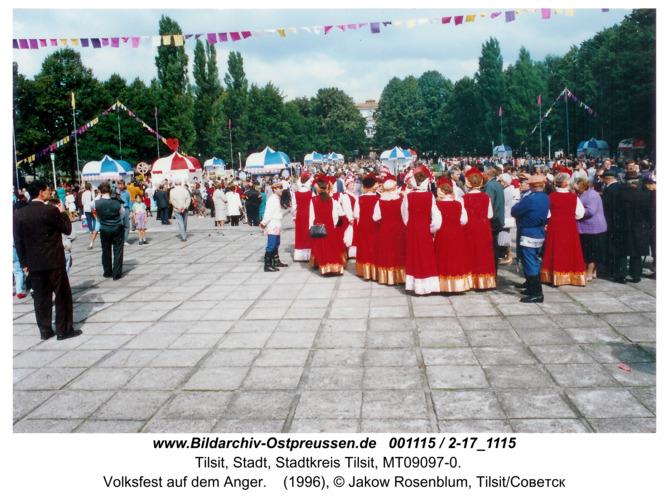 Tilsit, Volksfest auf dem Anger