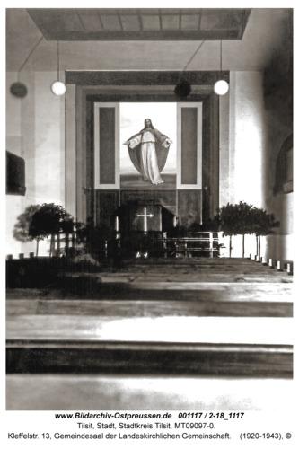 Tilsit, Kleffelstr. 13, Gemeindesaal der Landeskirchlichen Gemeinschaft