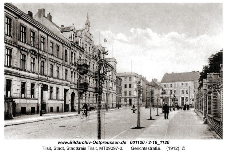 Tilsit, Gerichtsstraße