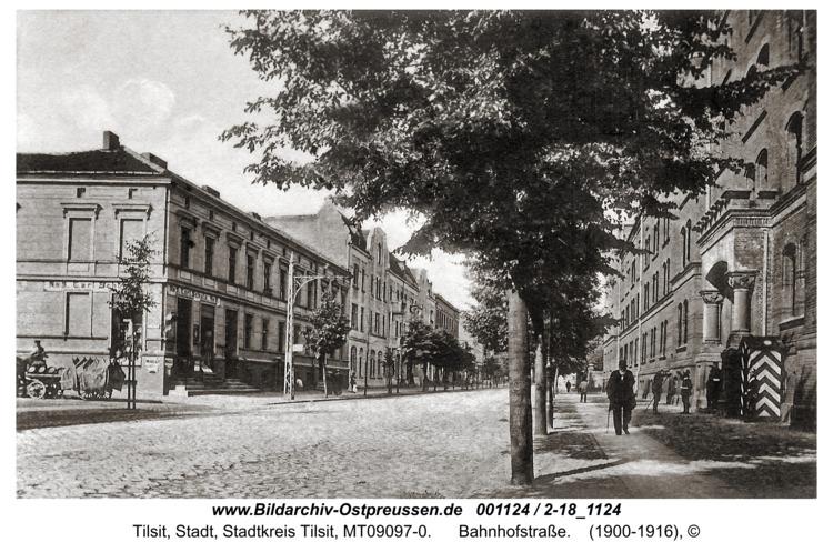 Tilsit, Bahnhofstraße