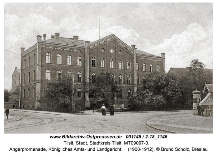 Tilsit, Angerpromenade, Königliches Amts- und Landgericht