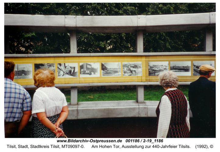 Tilsit, Am Hohen Tor, Ausstellung zur 440-Jahrfeier Tilsits