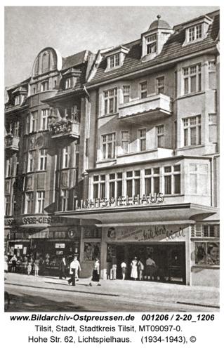 Tilsit, Hohe Str. 62, Lichtspielhaus