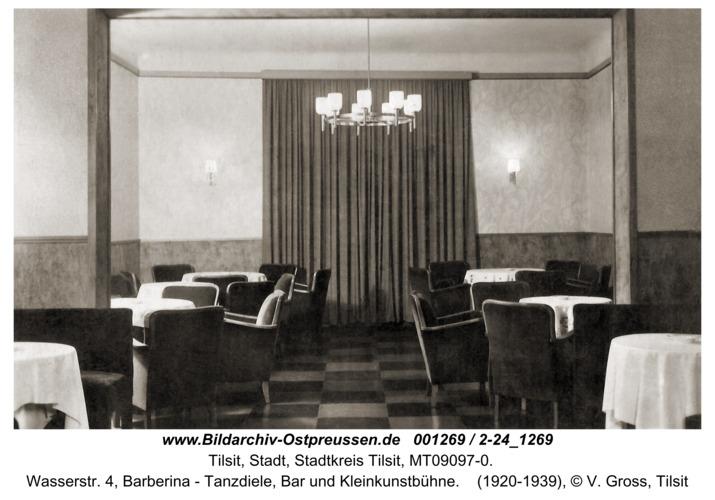 Tilsit, Wasserstr. 4, Barberina - Tanzdiele, Bar und Kleinkunstbühne