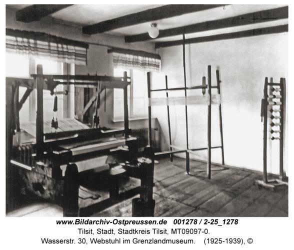 Tilsit, Wasserstr. 30, Webstuhl im Grenzlandmuseum