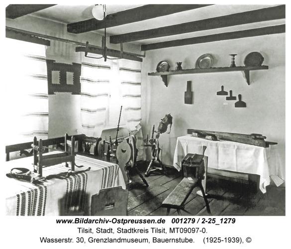 Tilsit, Wasserstr. 30, Grenzlandmuseum, Bauernstube