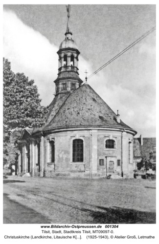 Tilsit, Christuskirche (Landkirche, Litauische Kirche), Blick von Osten