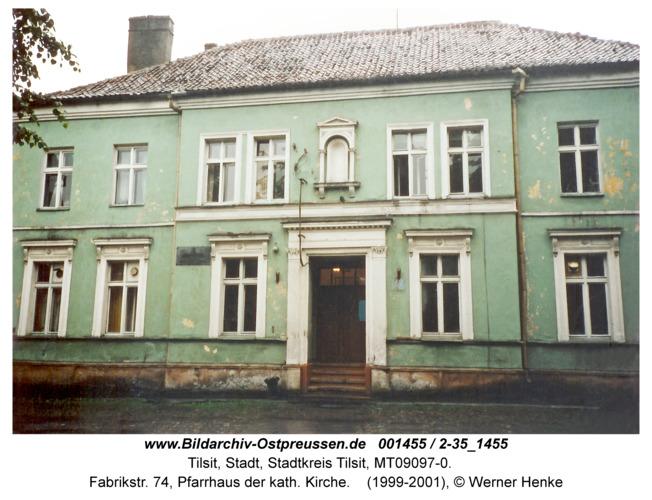 Tilsit, Fabrikstr. 74, Pfarrhaus der kath. Kirche