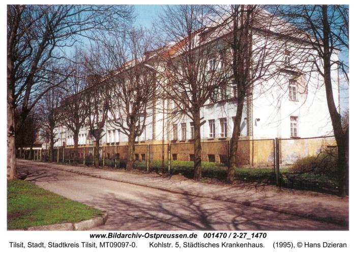 Tilsit, Kohlstr. 5, Städtisches Krankenhaus