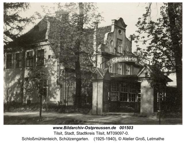 Tilsit, Schloßmühlenteich, Schützengarten