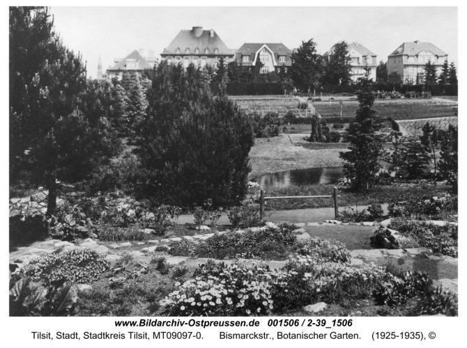 Tilsit, Bismarckstr., Botanischer Garten