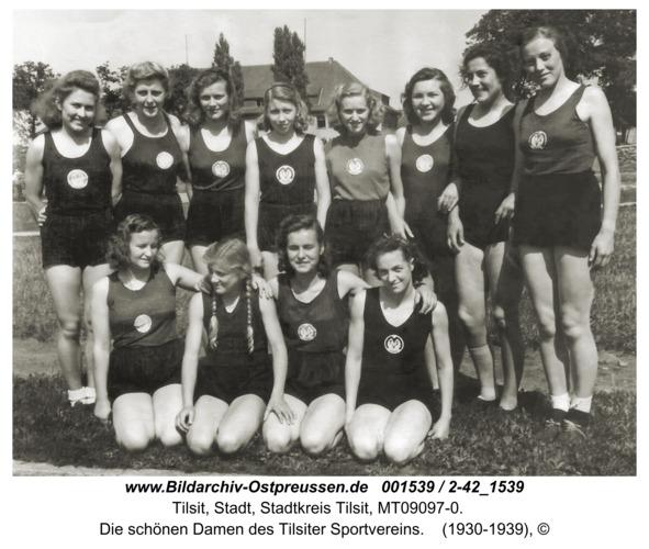 Tilsit, Die schönen Damen des Tilsiter Sportvereins