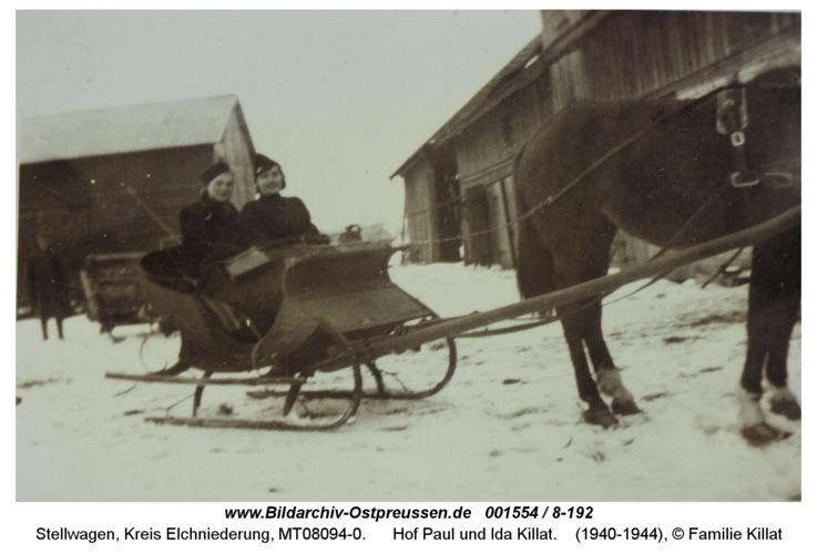 Stellwagen, Hof Paul und Ida Killat