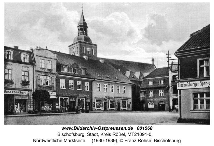 Bischofsburg, Nordwestliche Marktseite