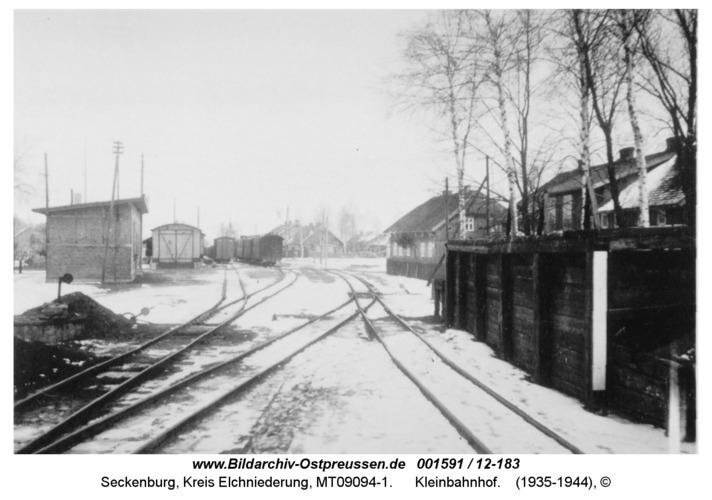 Seckenburg, Kleinbahnhof
