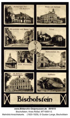 Bischofstein, Mehrbild-Ansichtskarte