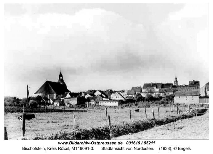Bischofstein, Stadtansicht von Nordosten