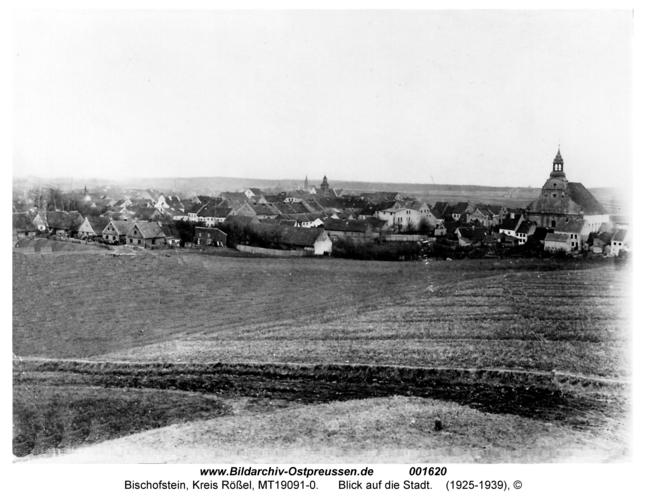 Bischofstein, Blick auf die Stadt