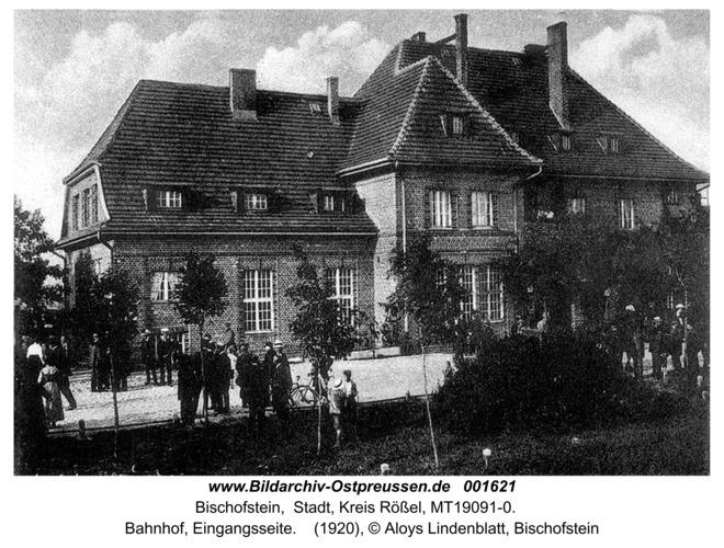 Bischofstein, Bahnhof, Eingangsseite