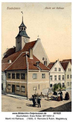 Bischofstein, Markt mit Rathaus