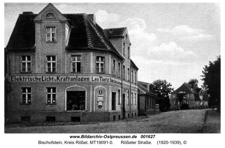 Bischofstein, Rößeler Straße