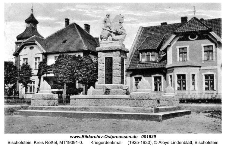 Bischofstein, Kriegerdenkmal