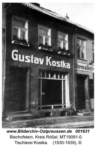 Bischofstein, Tischlerei Kostka