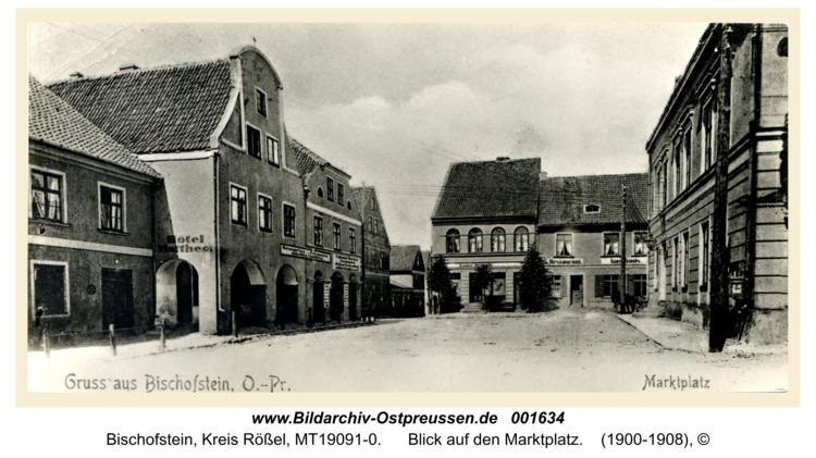 Bischofstein, Blick auf den Marktplatz