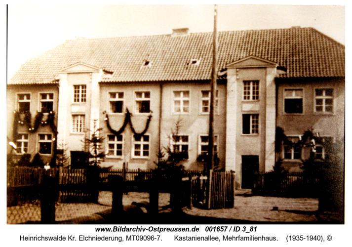 Heinrichswalde, Kastanienallee, Mehrfamilienhaus