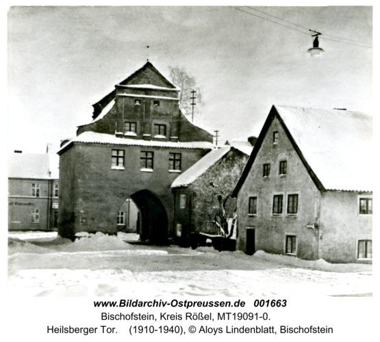 Bischofstein, Heilsberger Tor
