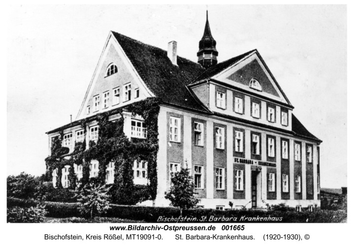 Bischofstein, St. Barbara-Krankenhaus