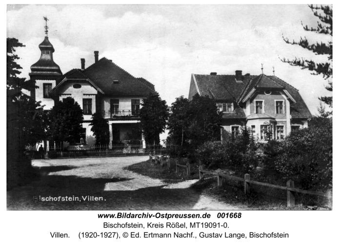 Bischofstein, Villen