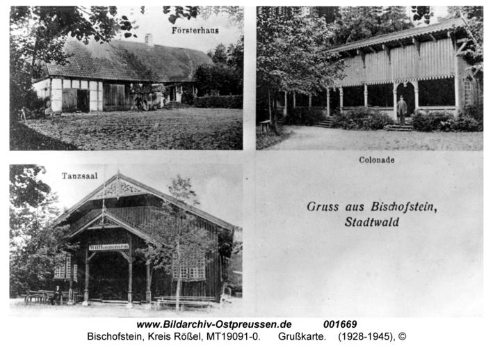 Bischofstein, Grußkarte