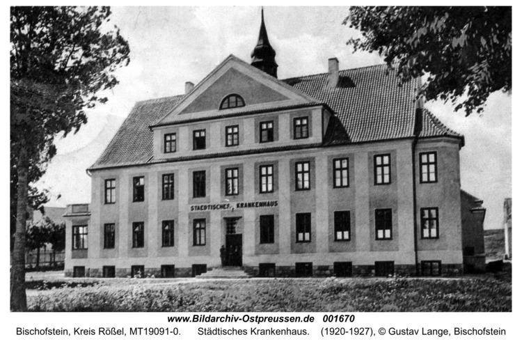 Bischofstein, Städtisches Krankenhaus
