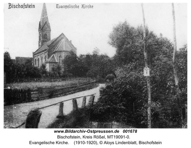 Bischofstein, Evangelische Kirche