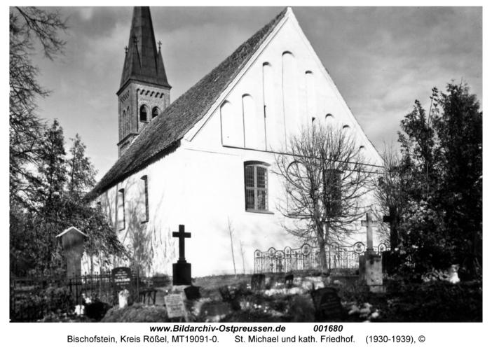 Bischofstein, St. Michael und kath. Friedhof