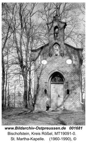 Bischofstein, St. Martha-Kapelle