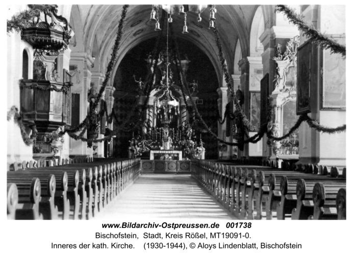 Bischofstein, Inneres der kath. Kirche I