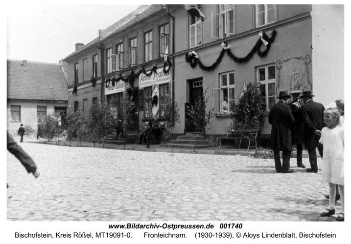 Bischofstein, Fronleichnam