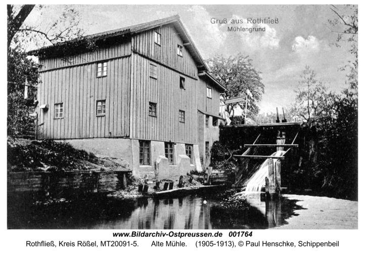 Rothfließ, Alte Mühle